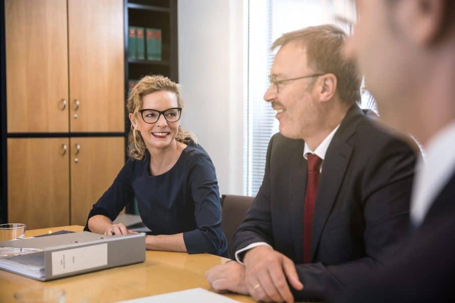 Besprechung der Steuerberater, Rechtsanwälte und Wirtschaftsprüfer