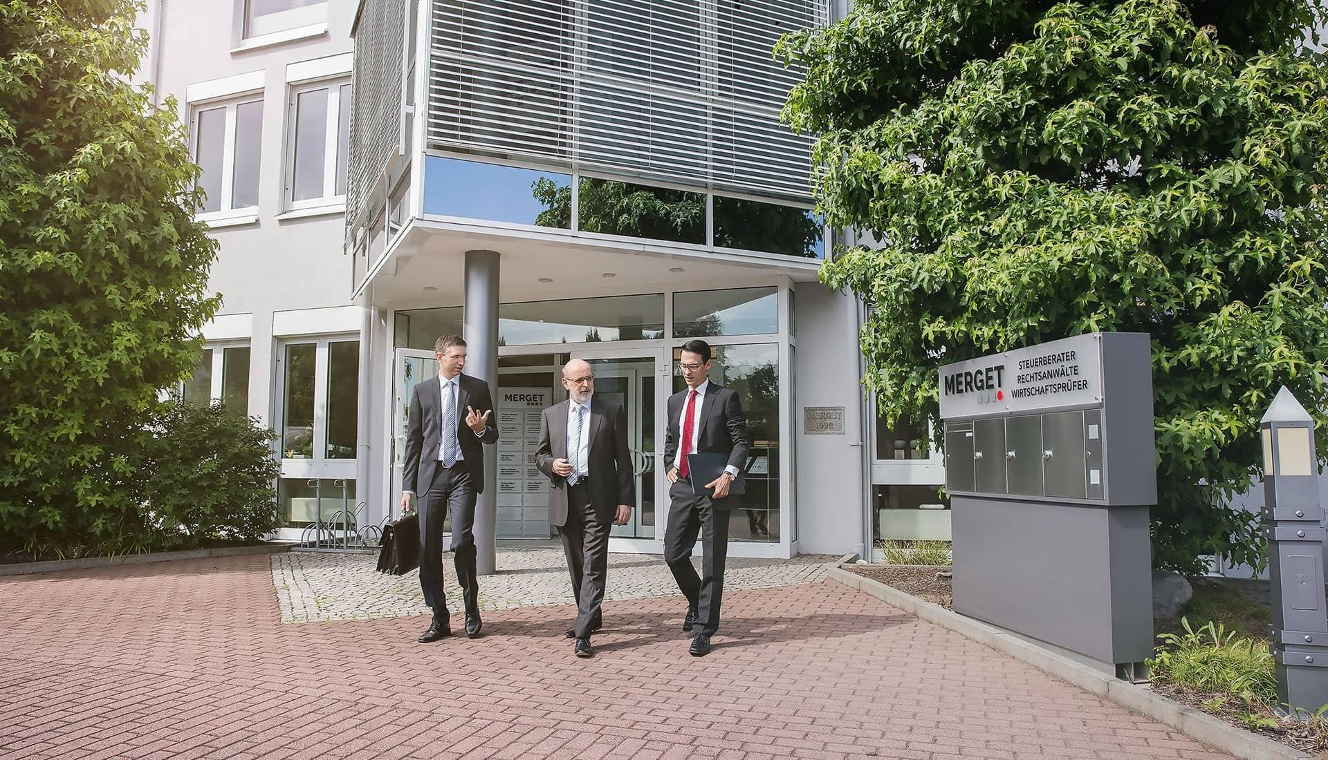 Gebäude der MERGET + PARTNER Steuerberater, Rechtsanwälte, Wirtschaftsprüfer aus Aschaffenburg